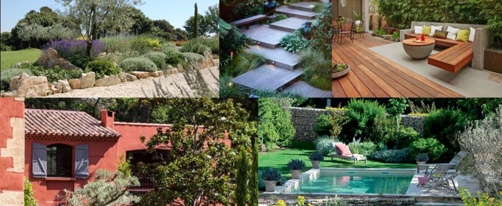 Moodboard jardin mediterrannéen